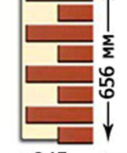 Фасадная термопанель  Regent Угловая