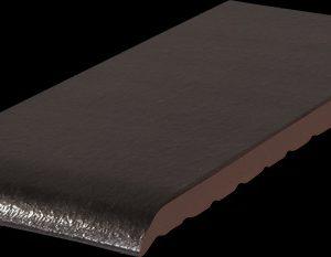 Подоконник керамический  Oникcoвый чepный (17)