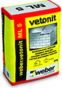 WEBER.VETONIT ML 5 color