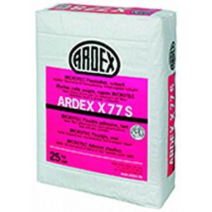 Быстротвердеющий эластичный клей X77S Ardex