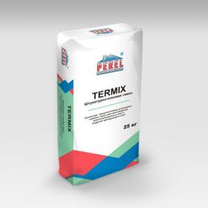TERMIX. Штукатурно-клеевая смесь Perel