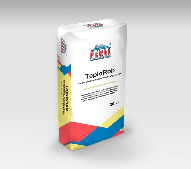 Perel. Легкая цементно-известковая TeploRob