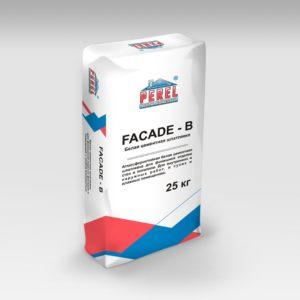 Perel. Белая цементная FACADE-B